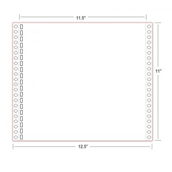 """Бумага для печати шрифтом Брайля Thermoform 11х11,5"""""""