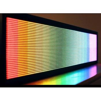 Бегущая строка 2930x690. Полноцвет