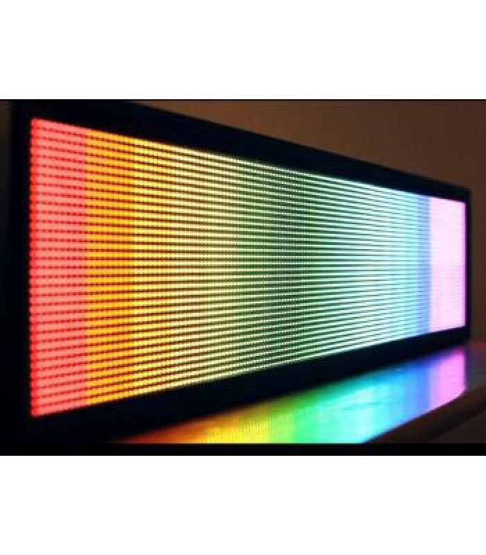 Бегущая строка 2610x690. Полноцвет