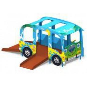 Игровой комплекс для детей с ограниченными возможностями Автобус ДО-1