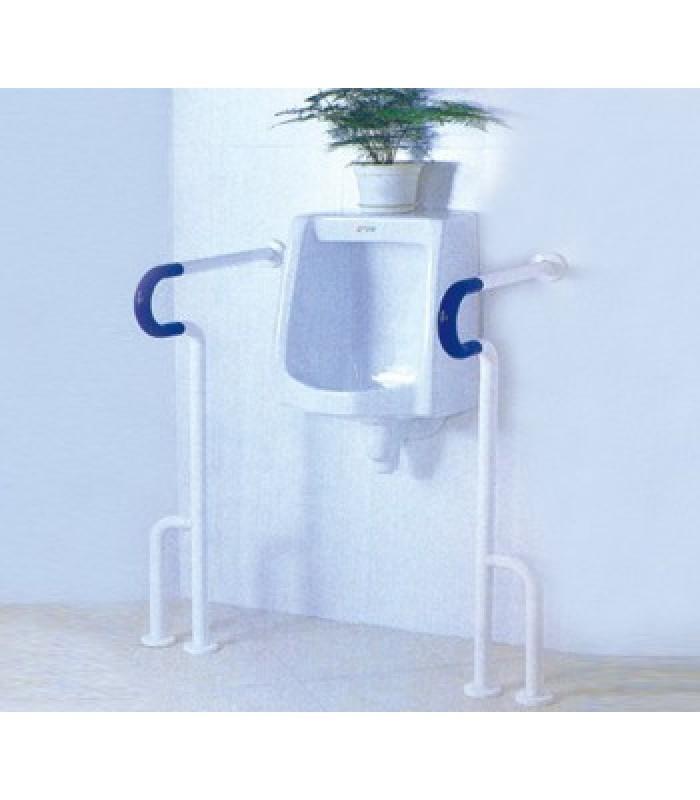 Поручень HS-001 для писсуаров/туалетов с креплением к полу