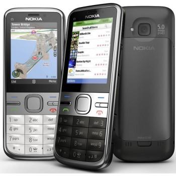 Говорящий мобильный телефон Nokia C5 для инвалидов по зрению
