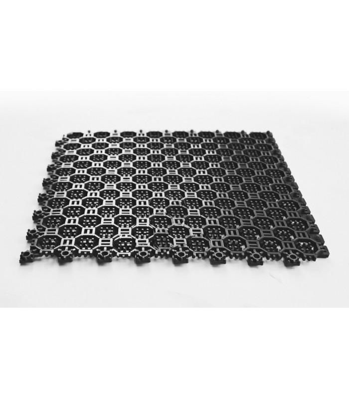 Сотовое грязезащитное покрытие Антикаблук 10мм черное