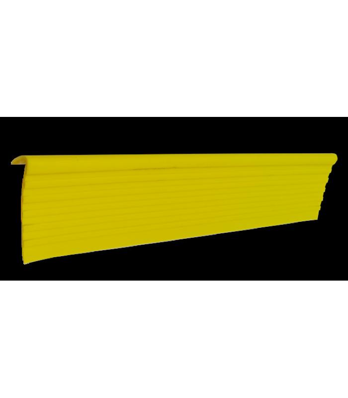 Противоскользящий самоклеящийся угловой профиль для ступеней