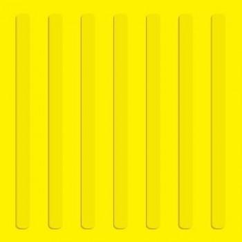Тактильная плитка полиуретан линия 500х500