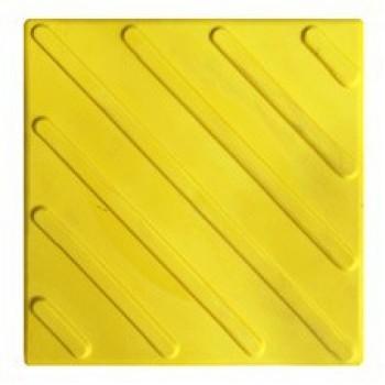 Тактильная плитка ПВХ - диагональ