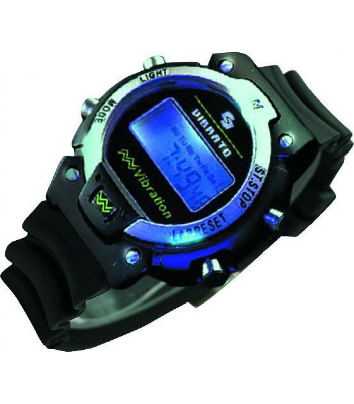 Наручные вибрационные часы-будильник VIBRATO