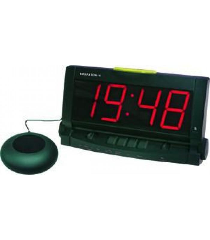 Настольные часы-будильник Вибратон-Ч с выносным вибратором
