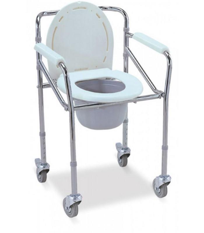 Кресло-коляска с санитарным оснащением для инвалидов FS696